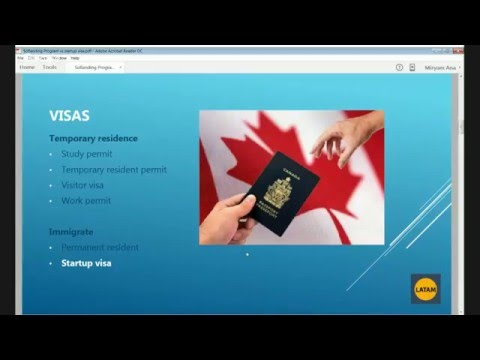 Canada's Startup Visa. Or Maybe better: a Softlanding Program?