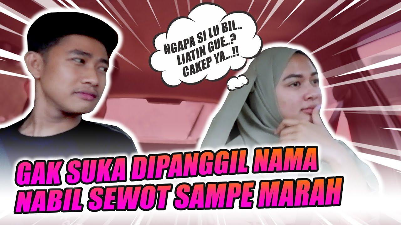 PRANK PANGGIL NAMA, LANGSUNG MARAH GAK MAU NGOMONG SEHARIAN..!!