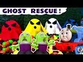 Funny Funlings and Thomas & Friends Trains in Ghost Rescue candy toy stories for kids TT4U