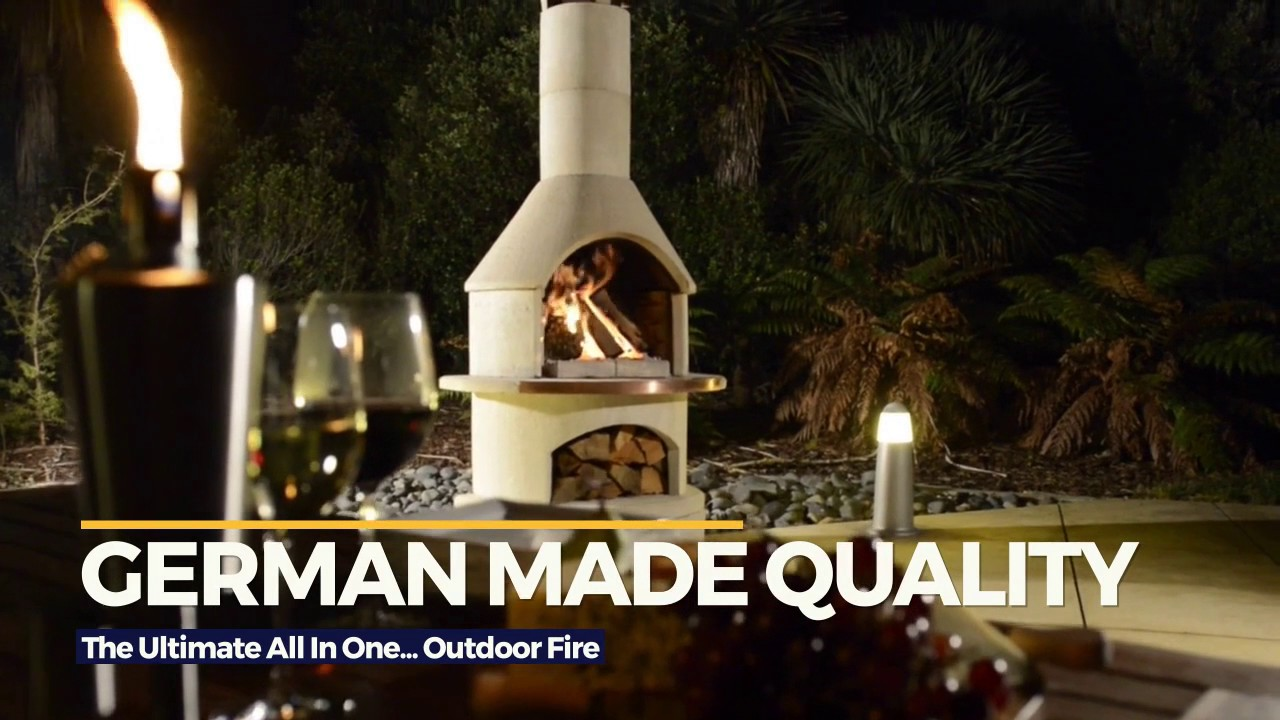 Buschbeck... The Ultimate Outdoor Fire, BBQ & Pizza Oven all ...