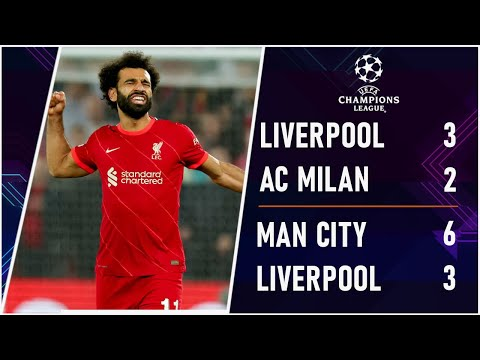 SENSATIONAL SALAH! Liverpool 3-2 AC Milan | Man City 6-3 RB Leipzig | Champions League Highlights