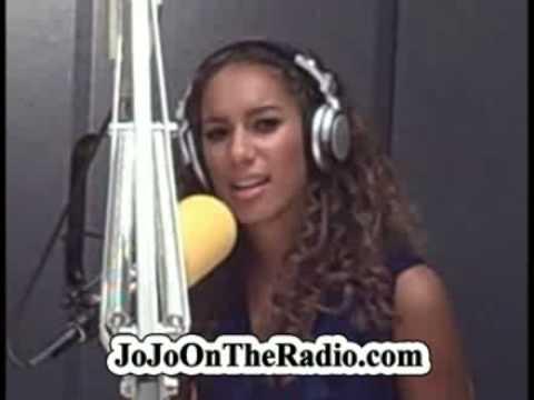 1 of 4 - Leona Lewis interview with JoJo