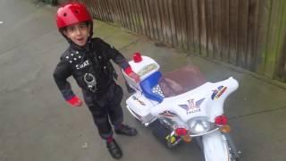 Side Walk Cop- Police Bike-Kids