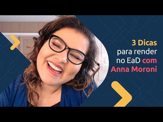 3 Dicas pra Render no EaD | TV Excelência