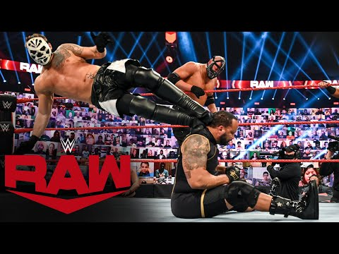 The Hurt Business vs. RETRIBUTION – Elimination Tag Team Match: Raw, Oct. 26, 2020