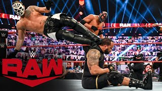 The Hurt Business vs. RETRIBUTION – Elimination Tag Team Match: Raw, Oct. 26, 2020