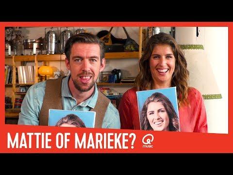 Wie heeft de meeste BN'ers gezoend? // Mattie of Marieke?
