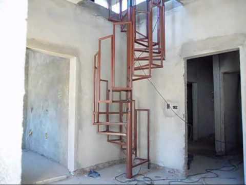 Serralharia Brasil Escada Caracol projetada e executada por quem ...