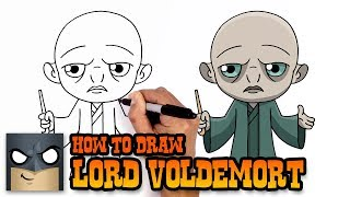 How to Draw Lord Voldemort | Harry Potter (Art Tutorial)