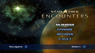 Star Trek: Encounters [ Playstation 2 ] - Intro & Gameplay