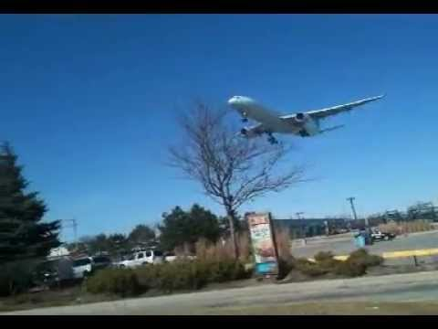 Plane Spotting at Toronto Pearson International Airport (Runway 23 YYZ)