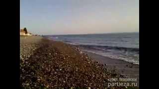Весна в Сочи - курорт Лазаревское(Мягкое солнце свободные пляжи, чистая морская вода, бодрит и оживляет, http://www.partieza.ru/, - летом такого моря..., 2013-04-01T18:21:54.000Z)