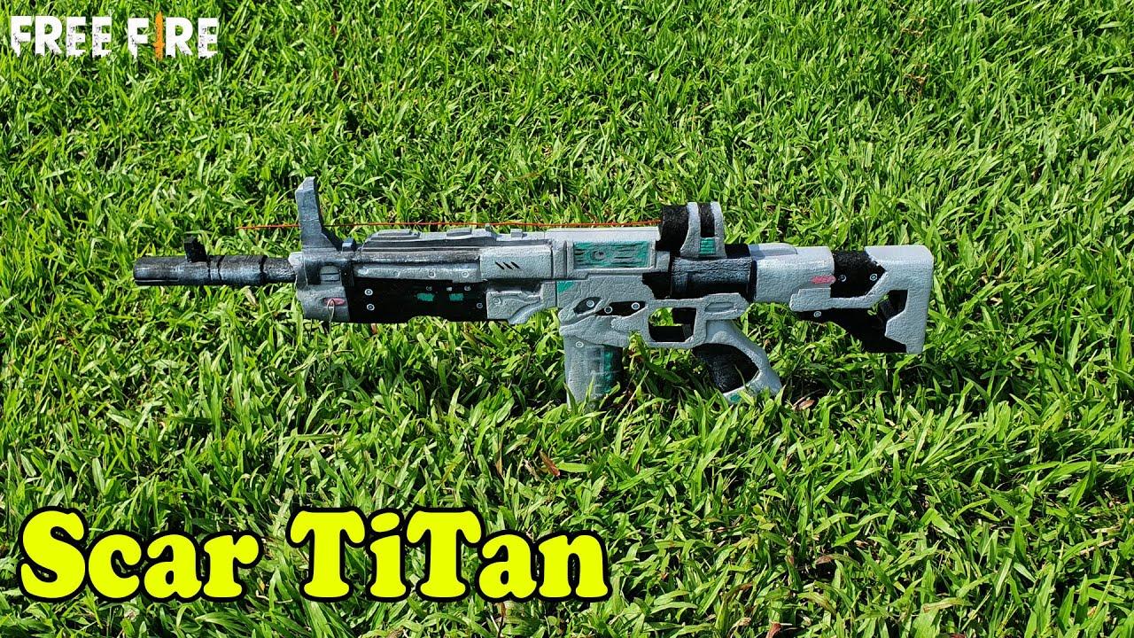Chế Tạo Súng Scar Đẳng Cấp TiTan, How To Make Gun Scar TiTan | Free Fire