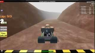 ROBLOX Mario Kart N64 Choco Mountian