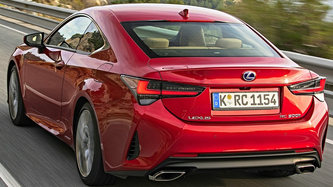 2020 lexus rc  u2013 all you need to know