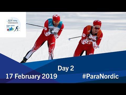 Day 2 | 2019 World Para Nordic Skiing Championships | Prince George