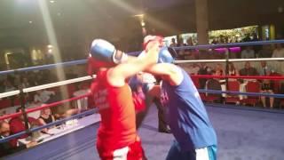 White collar boxing Birmingham fight 14