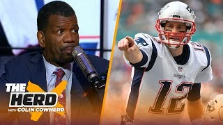 Rob Parker ranks NFL Playoff teams, talks Tom Brady being 'lucky' & Foles vs Wentz | NFL | THE HERD
