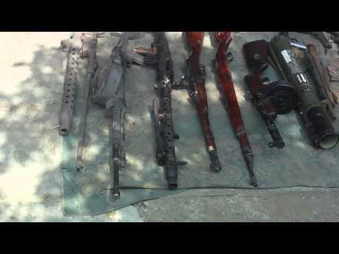 В Пружанах обнаружен склад оружия времен ВОВ