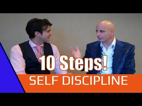 10 Steps to Self Discipline Workshop