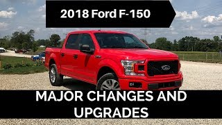 2018 Ford F 150 Review of major changes and upgrades vs. 2017 F 150