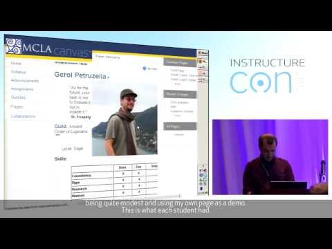Canvas as an Educational Gaming Platform - Gerol Petruzella, Massachusetts College of Liberal Arts