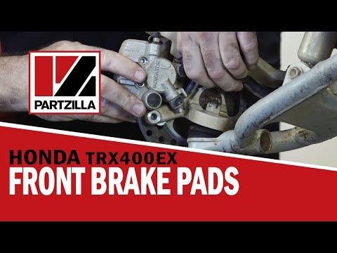 How to Replace ATV Front Brake Pads – Honda TRX | Partzilla.com