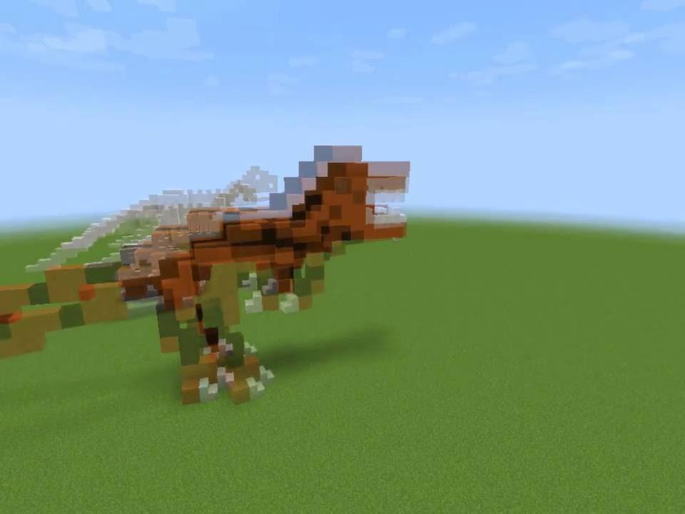 Динозавры в майнкрафт обзор YouTube