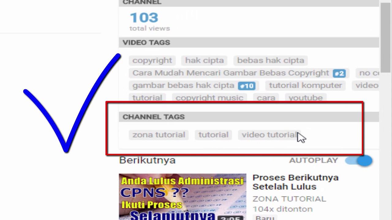 Cara Membuat Kata Kunci Channel Youtube Agar Mudah Ditemukan Youtube