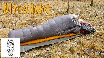 "Ultralight-Gear: Daunen-Quilt ""Quilt 250"" von Cumulus"