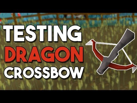 Testing The Brand New Dragon Crossbow (Dragon Slayer 2) How Does It Compare To Other Weapons? [OSRS]