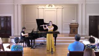 Duo for flute and piano, II. Poetic, somewhat mournful, III. Lively, with bounce