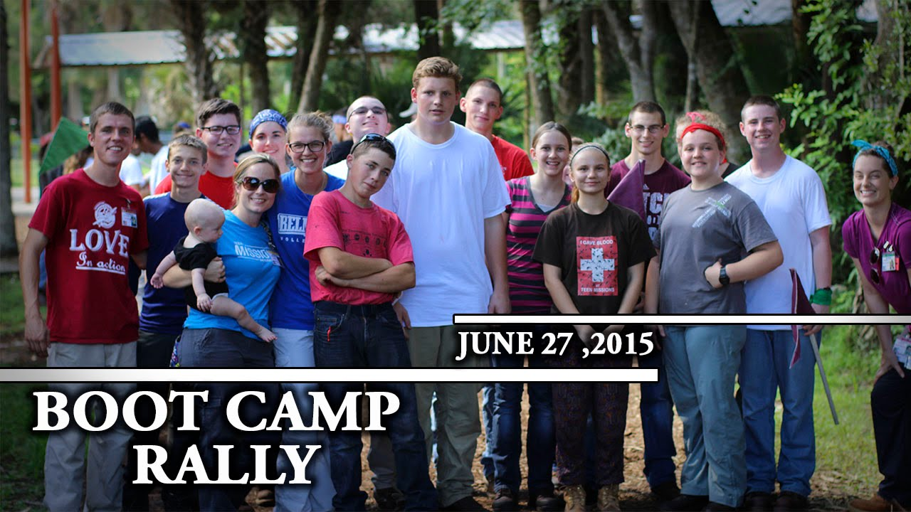 Teen Missions 2nd Boot Camp Rally June 29th - YouTube