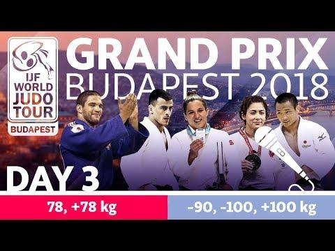 Judo Grand-Prix Budapest 2018: Day 3