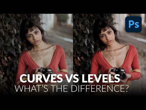 Curves vs. Levels: What's the Difference?  | Photoshop