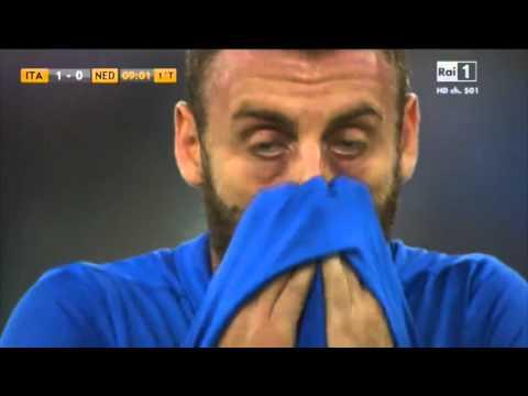 Italy vs Nederlands - Daniele De Rossi Penalty