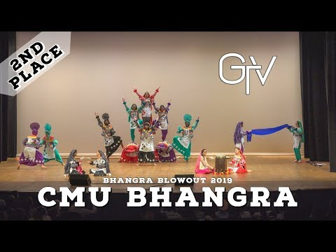 CMU Bhangra – Second Place – Bhangra Blowout 2019