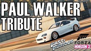 Forza Horizon 2 Paul Walker Tribute Video   Fast And Furious 7