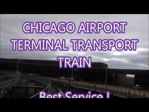 Chicago Airport {{How to Change Terminal}}}