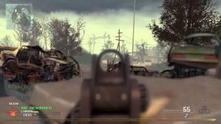 MW2 PS3 TDM 34:1 Nuke Wasteland