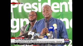 NDC Flagbearer Race - The Pulse on JoyNews (16-10-18)