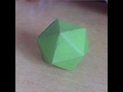 How To Make A Paper Ball With Origami