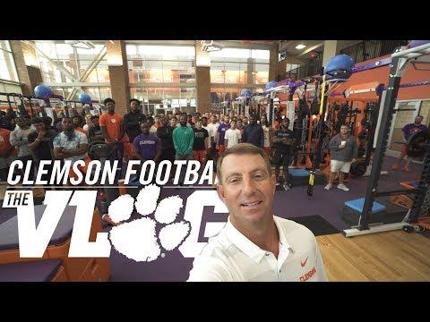 Clemson Football || The Vlog (Season 3, Ep 1)