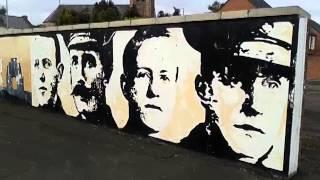 Ww1 Vcs Gable Wall Mural Tribute Lower Newtownards Road Belfast