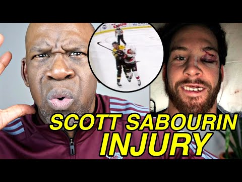 Doctor Explains SCOTT SABOURIN INJURY From Big Hockey Hit | Dr. Chris Raynor
