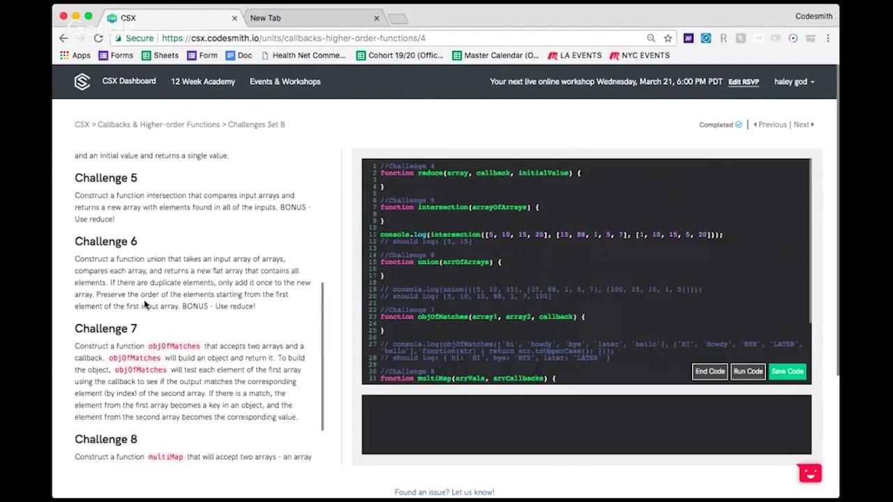 Codesmith Reviews | Course Report