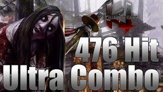 Hisako:476 Hit Ultra Combo - Killer Instinct