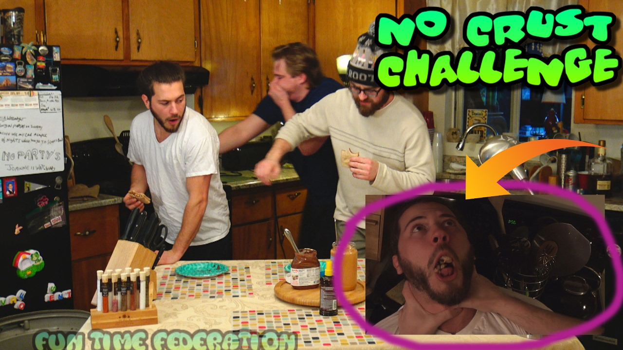 Epic No Crust Sandwich Challenge!