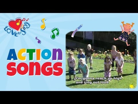 Reach Up High | Tofa Tafa with Lyrics | Build Self Esteem & Positive Song | Children Love to Sing