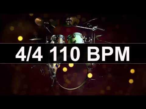 Drums Metronome 110 BPM